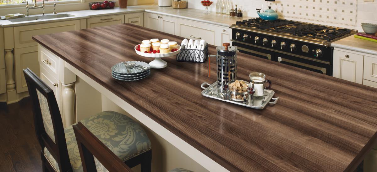 Formica topline la encimera que simula madera natural - Encimera de madera para cocina ...