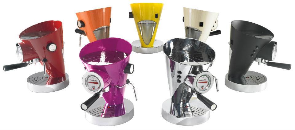 cafetera buggati de colores